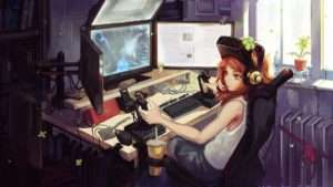 anime-gamer-girl