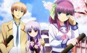 angel beats review. best anime series cute anime