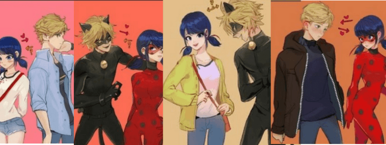 Marichat, Ladynoir, Adrienette and Ladrien: Who is your OTP?