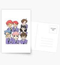 bts, BTS Ouran High School host Club crossover anime otaku nerd cute fangirl