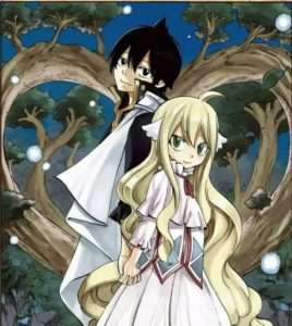 Favorite Couples in Fairy Tail Mavis and Zeref