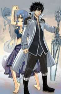 Favorite Couples in Fairy Tail Gray and Juvia