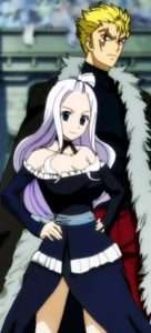 Favorite Couples in Fairy Tail Laxus and Mirajane