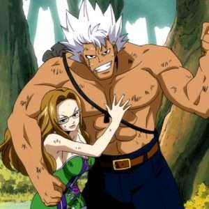Favorite Couples in Fairy Tail Elfman and Evergreen