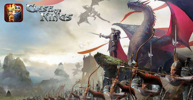 clash-of-kings-king-his-army-and-dragons-going-to-battle