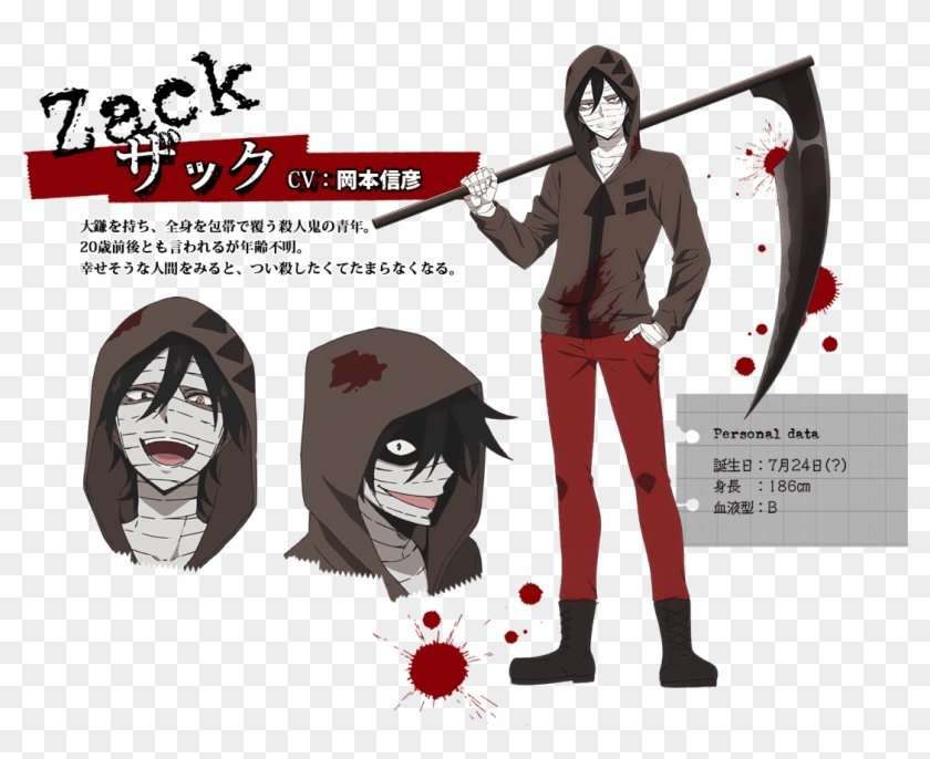 angels of death cosplay zack