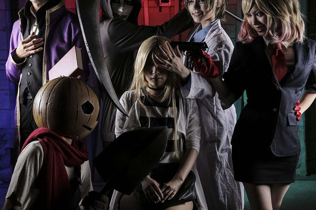 angels of death cosplay zack ray eddie gray danny and cathy best anime ever!