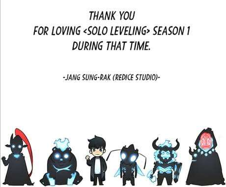 Solo Leveling Webtoon Sung Jin-Woo his shadow warriors chibi versions of them