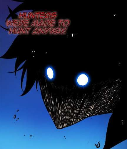 Solo Leveling is INSANELY GOOD Webtoon Sung Jin-Woo E-rank Hunter scary eyes