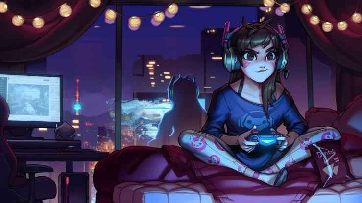 overwatch dva gamer girl 5 Best Cyberpunk Games To Play before Cyberpunk 2077