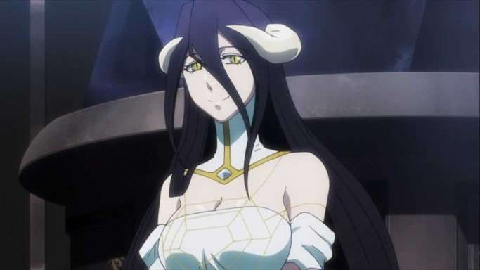 Albedo from Overlord Top 25 Busty Female Anime Characters