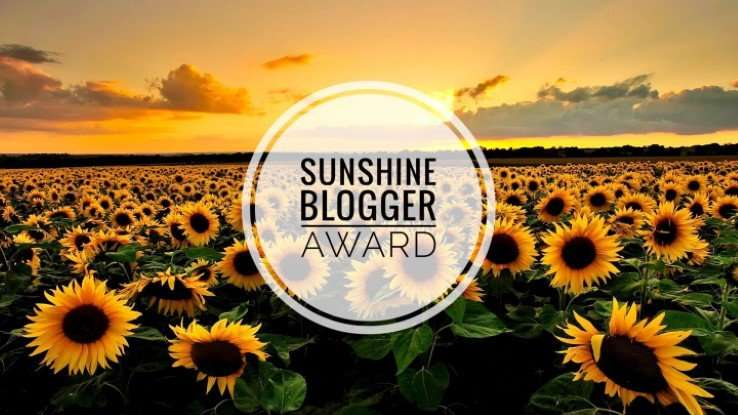 sunshine-blogger-award june 2020 myanime2go second nomination