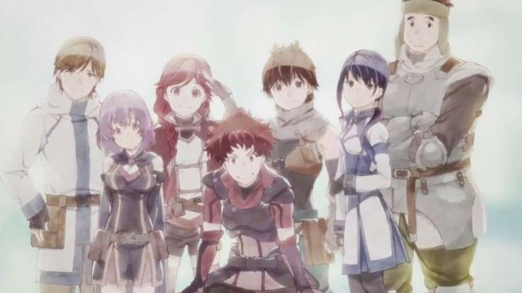 Grimgar Ashes and Illusions Review the whole party group (blog)