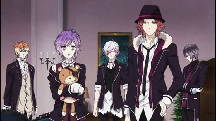 Diabolik Lovers Sakamaki brothers